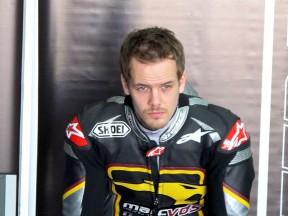 Mika Kallio in the Marc VDS garage