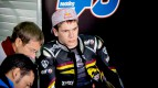 Scott Redding in the Marc VDS garage