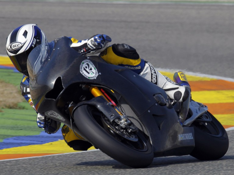 Wargala during Valencia test