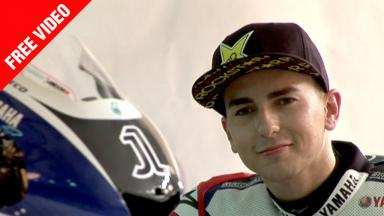 Discovering Jorge Lorenzo's 2011 YZR-M1 - FREE VIDEO