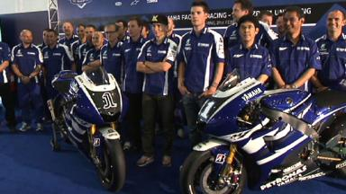 Yamaha unveil 2011 YZR-M1 in Malaysia