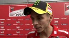 First day feeling at Sepang pleases Rossi