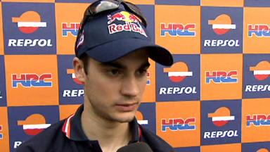 Pedrosa pleased with opening day's accomplishments