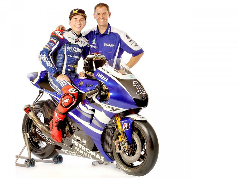 Jorge Lorenzo and Team Manager Wilco Zeelenberg