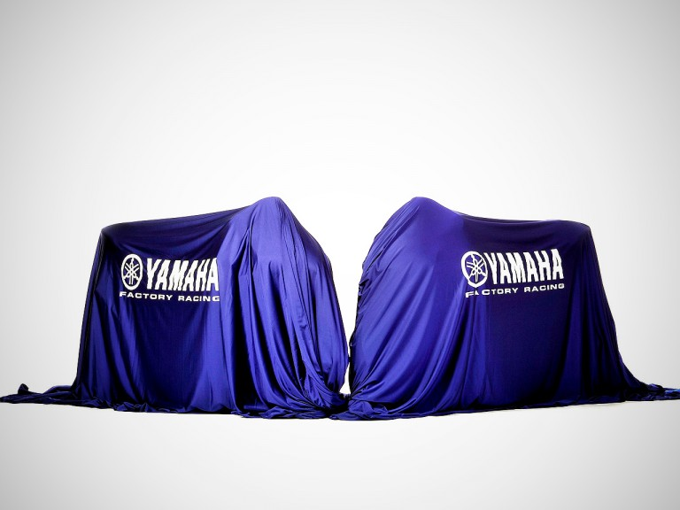 Yamaha Factory Racing unveils the new 2011 YZR-M1