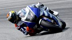 Jorge Lorenzo in action at Sepang test