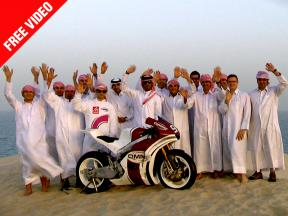 QMMF Racing Team Desert Presentation