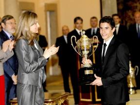 Marc Márquez receives his National Sport Prize
