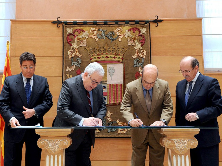 Dorna and MotorLand Aragón agree extension until 2016