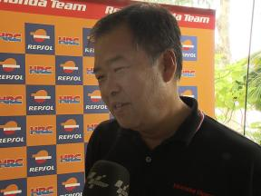Nakamoto on the 2011 RC212V