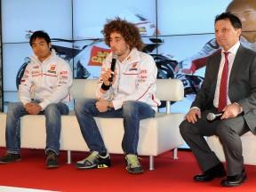 Team San Carlo Honda Gresini presentation 2011