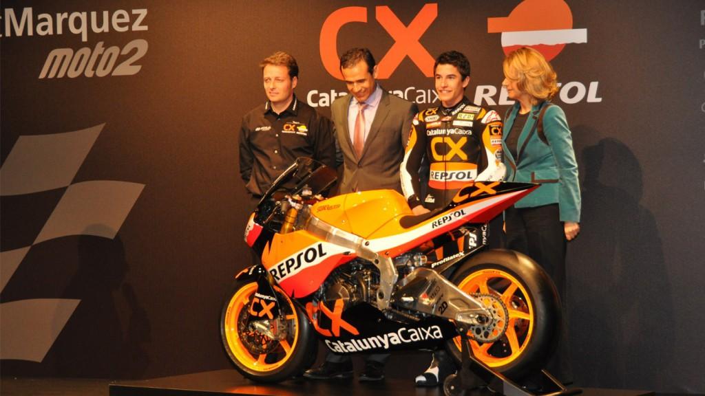 Team Catalunya Caixa Repsol 2011 presentation