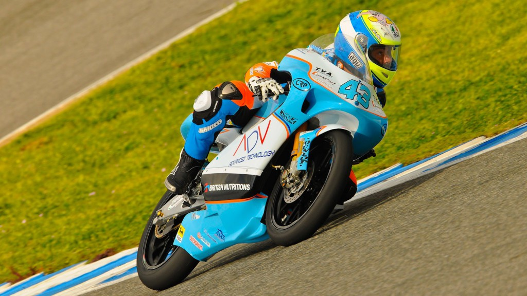 Francesco Mauriello, WTR-Ten10 Racing, Jerez test