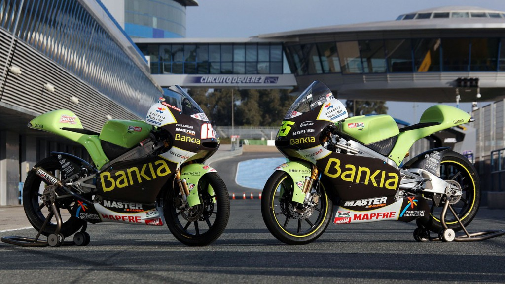 New livery presentation for the 125 Aspar Team