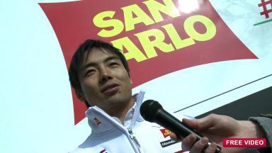 Interview with San Carlo Honda Gresini rider Hiroshi Aoyama