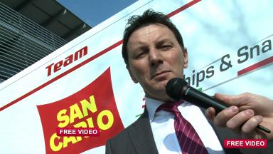 Interview with the San Carlo Honda Gresini team owner Fausto Gresini