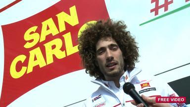 Interview with San Carlo Honda Gresini rider Marco Simoncelli