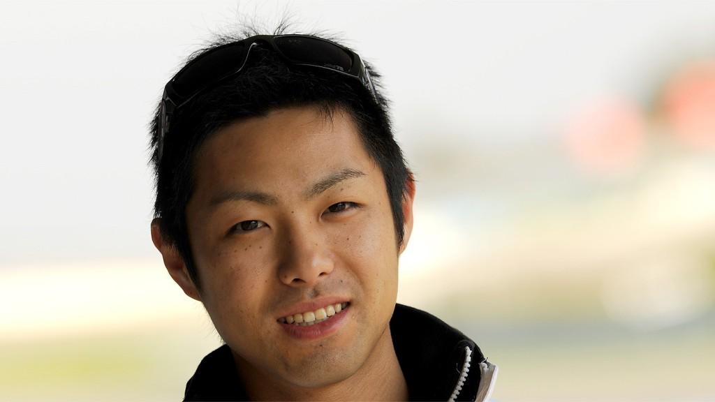 Moto2 Rider Yuki Takahashi