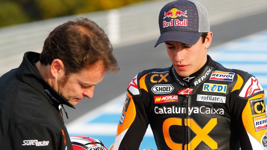 Team Catalunya Caixa Repsol in the Jerez test