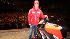 Nicky Hayden at the Ducati MotoGP night