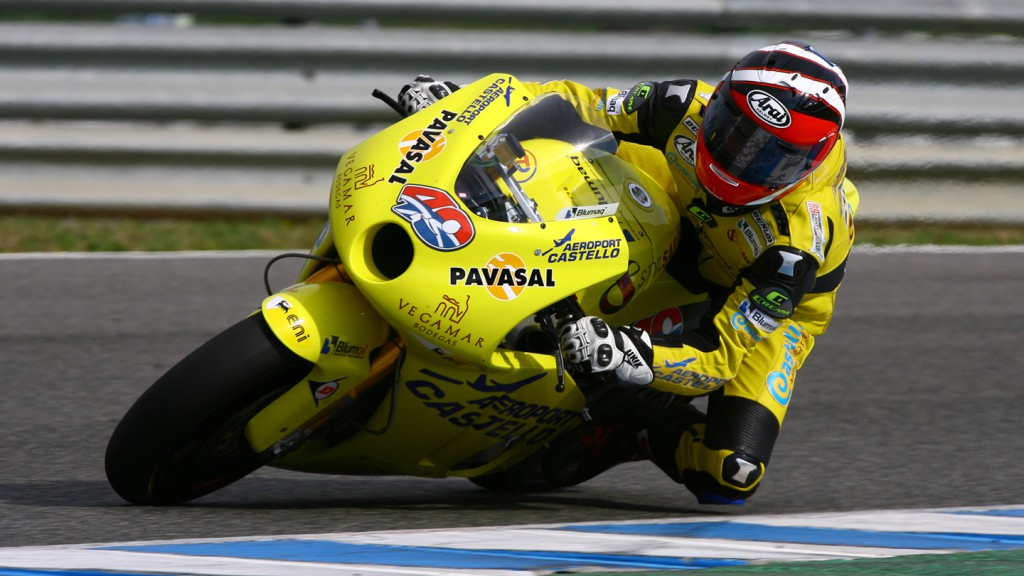 Kev Coghlan in action during the Jerez Test