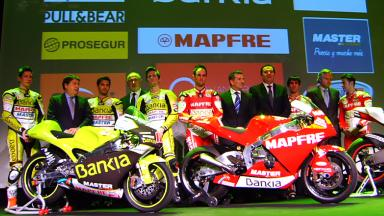 Team Aspar official 2011 presentation in Madrid
