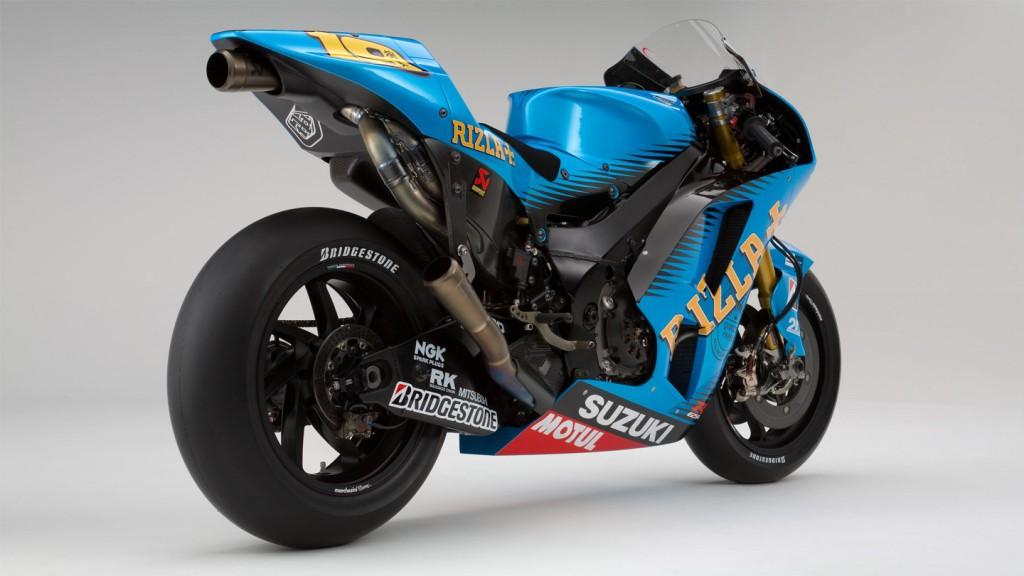 Alvaro Bautista, Suzuki GSV-R, Rizla Suzuki MotoGP