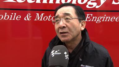 Geo Technology President Osamu Goto on Moto2 engine allocation