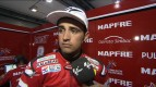 Barbera talks about Qatar Test pace