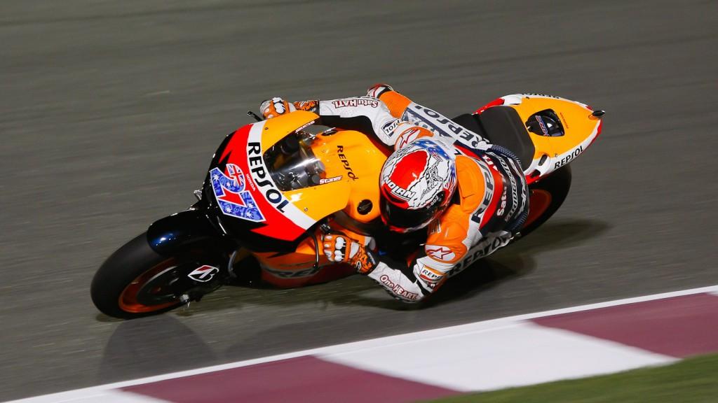 Casey Stoner, Repsol Honda, Qatar Test