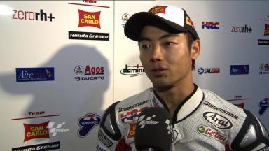Aoyama on Qatar Test