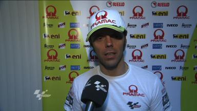 Capirossi gives his view on Losail run