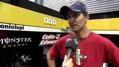 Edwards reviews Qatar Test