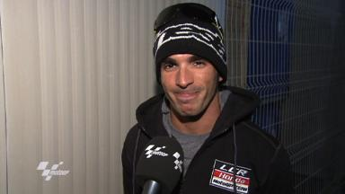 Qatar Test 2011 - MotoGP - Interview - Toni Elias
