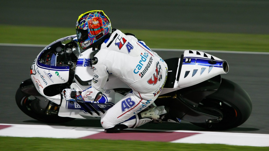 Karel Abraham, Cardion AB Motoracing, Qatar Test