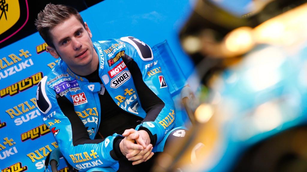 Alvaro Bautista, Rizla Suzuki MotoGP, Qatar Test