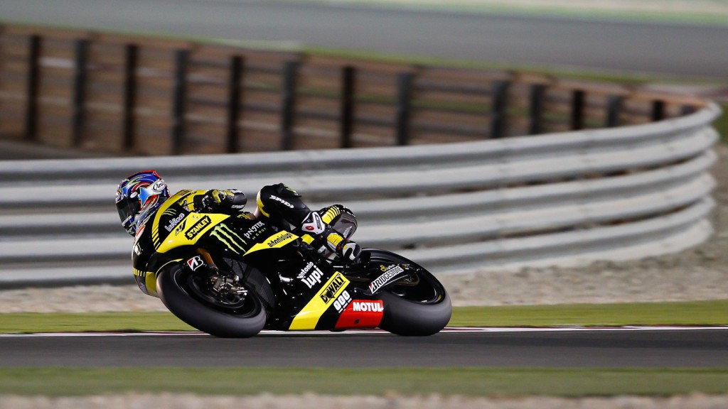 Colin Edwards , Monster Yamaha Tech 3, Qatar Test