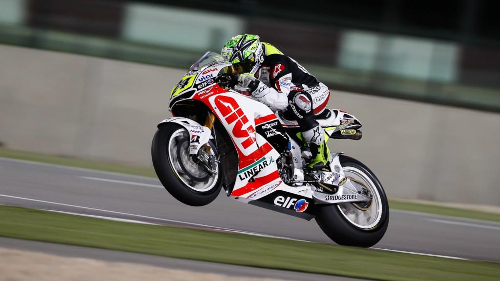 Toni Elias, LCR Honda MotoGP, Qatar Test
