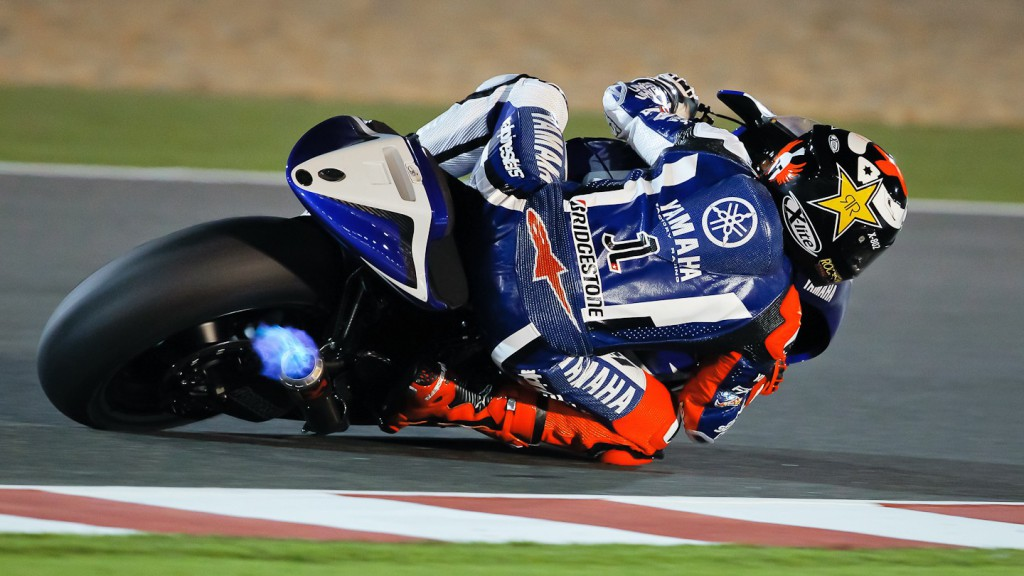 Jorge Lorenzo, Yamaha Factory Racing, Qatar Test