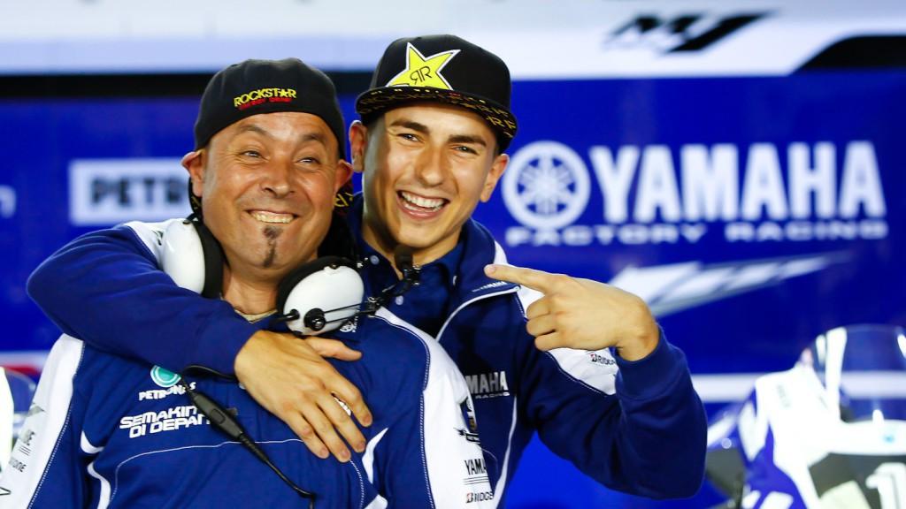Jorge Lorenzo, Yamaha Factory Racing, Qatar Test