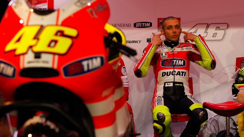 valentino rossi ducati 2011 qatar. tattoo Valentino Rossi Qatar