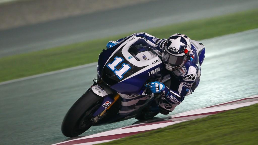 BEN Spies, Yamaha Factory Racing, Qatar Test