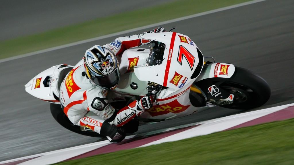 hiroshi Aoyama, San Carlo Honda Gresini, Qatar Test