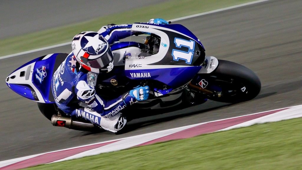 Ben Spies, Yamaha Factory Racing, Qatar Test