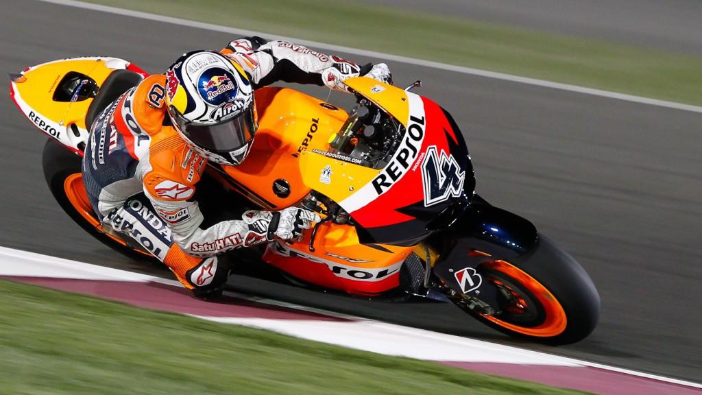 Andrea Dovizioso, Repsol Honda, Qatar Test