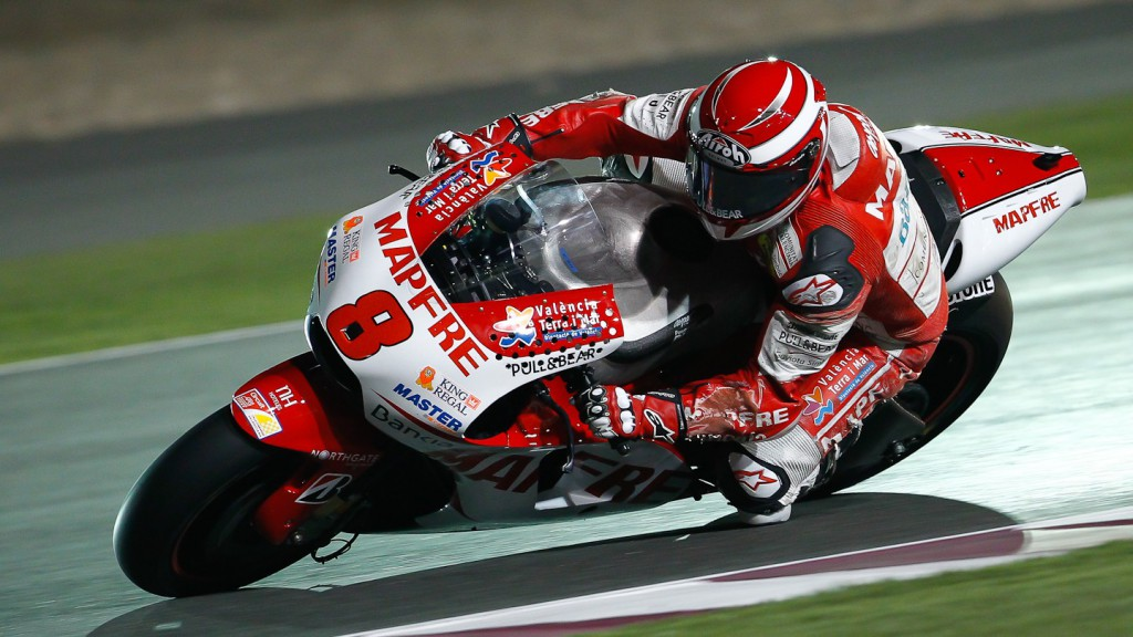 Hector Barbera, Mapfre Aspar, Qatar Test