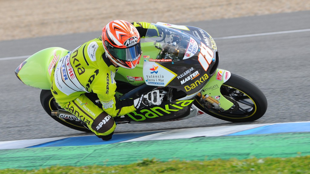 Nico Terol, Bankia Aspar Team, Jerez Test