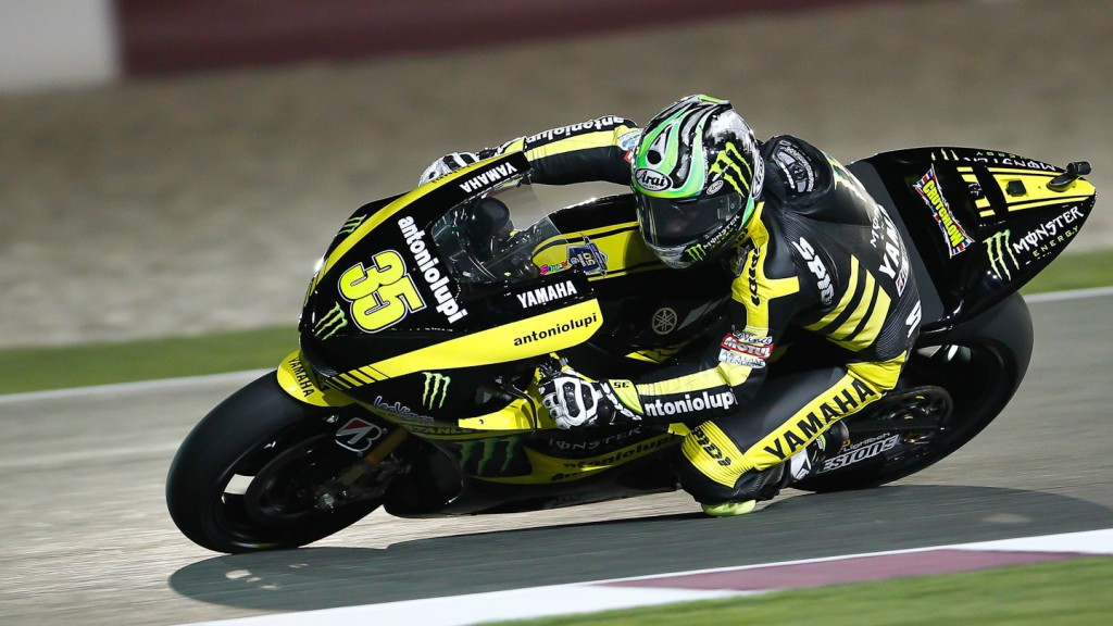 Cal Crutchlow, Monster Yamaha Tech 3, Qatar Test