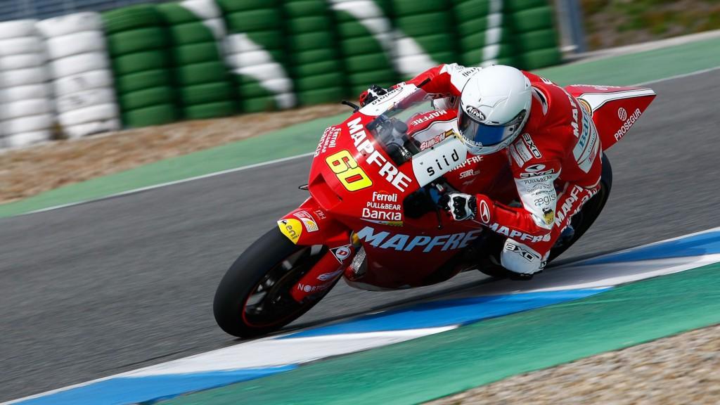 Julian Simon, Mapfre Aspar, Jerez Test