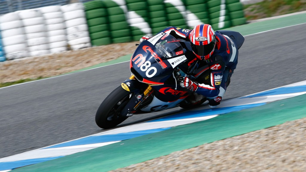Axel Pons, Pons HP 40, Jerez Test